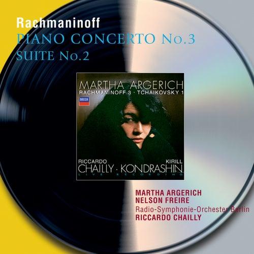 Rachmaninov: Piano Concerto No.3; Suite No.2 for 2 Pianos di Martha Argerich