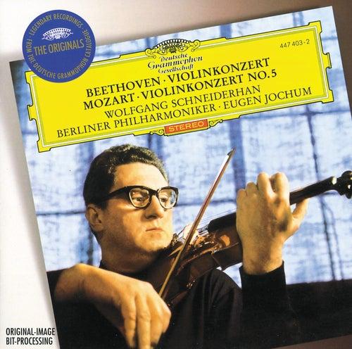 Beethoven: Violin Concerto / Mozart: Violin Concerto No.5 de Wolfgang Schneiderhan