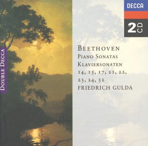 Beethoven: Piano Sonatas Nos. 14, 15, 17, 21-24 & 32 by Friedrich Gulda