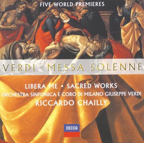 Verdi: Messa Solenne; Libera Me; Sacred Works (Five World Premieres) di Elisabetta Scano