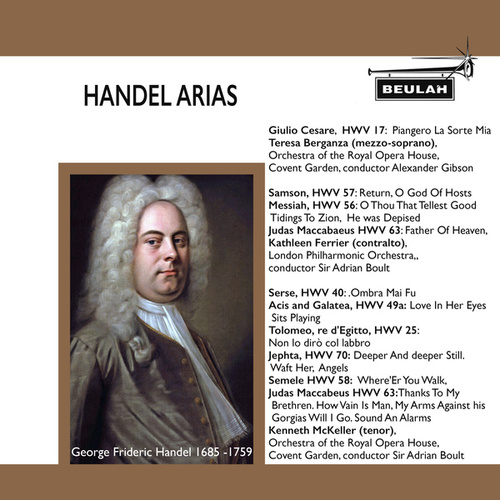 Handel Arias von Orchestra of the Royal Opera House, Covent Garden