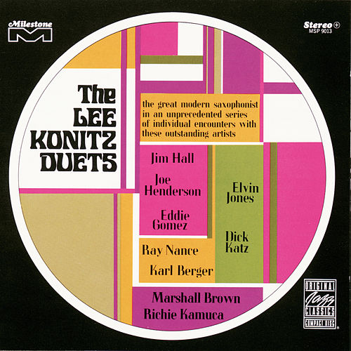 The Lee Konitz Duets de Lee Konitz