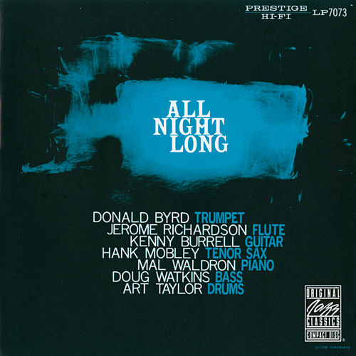 All Night Long by Donald Byrd