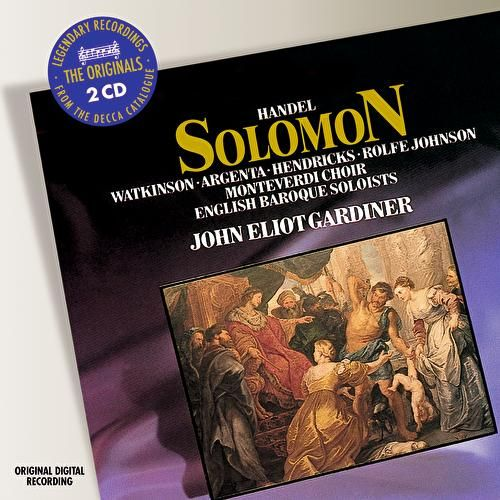 Handel: Solomon by Nancy Argenta
