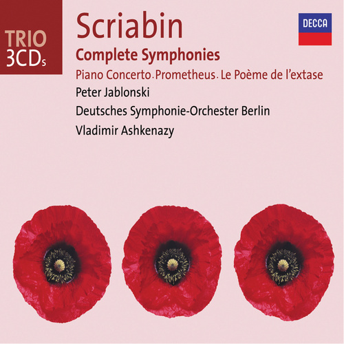 Scriabin: Complete Symphonies / Piano Concerto, etc. by Peter Jablonski