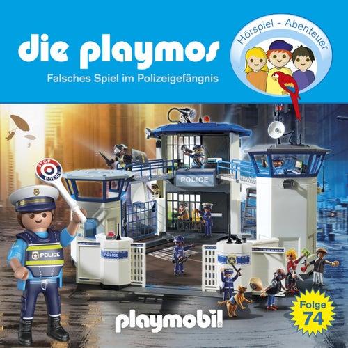 Folge 74: Falsches Spiel im Polizeigefängnis (Das Original Playmobil Hörspiel) von Die Playmos