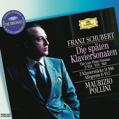Schubert: The Late Piano Sonatas D 958, 959 & 960; 3 Piano Pieces D 946; Allegretto D 915 von Maurizio Pollini