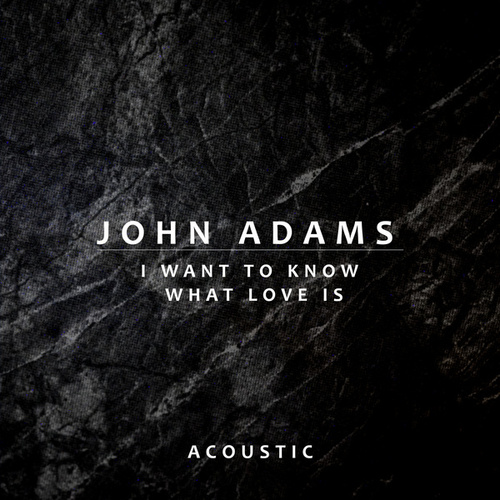 I Want To Know What Love Is (Acoustic) by John Adams