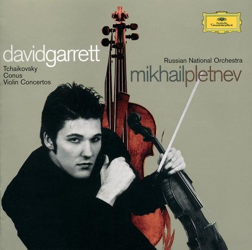 Tchaikovsky / Conus: Violin Concertos fra David Garrett