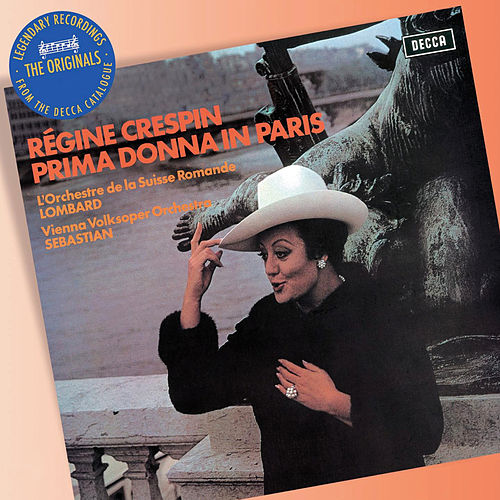 Prima Donna in Paris de Régine Crespin