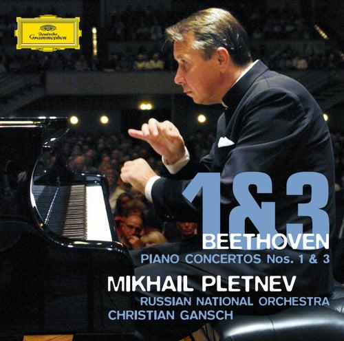 Beethoven: Piano Concertos Nos. 1 & 3 by Mikhail Pletnev