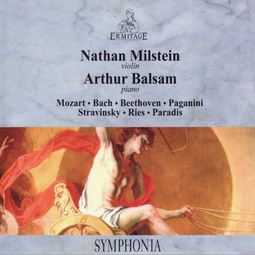 Nathan Milstein - Arthur Balsam von Wilhelm Hans Steinberg