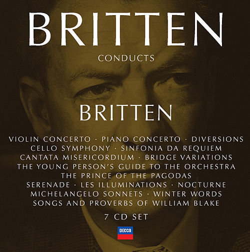 Britten Conducts Britten Vol.4 von Benjamin Britten