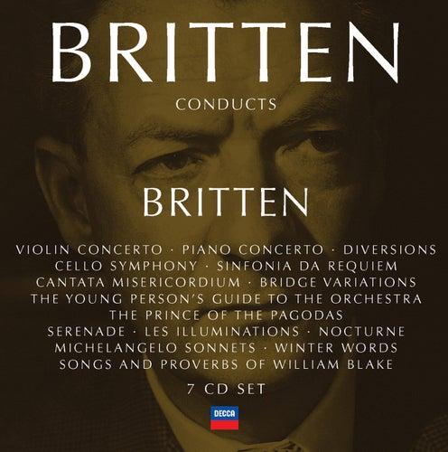 Britten conducts Britten Vol.4 de Benjamin Britten