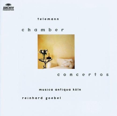 Telemann: Chamber Concertos von Musica Antiqua Köln