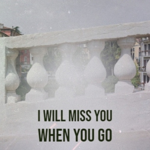 I Will Miss You When You Go by Various Artists