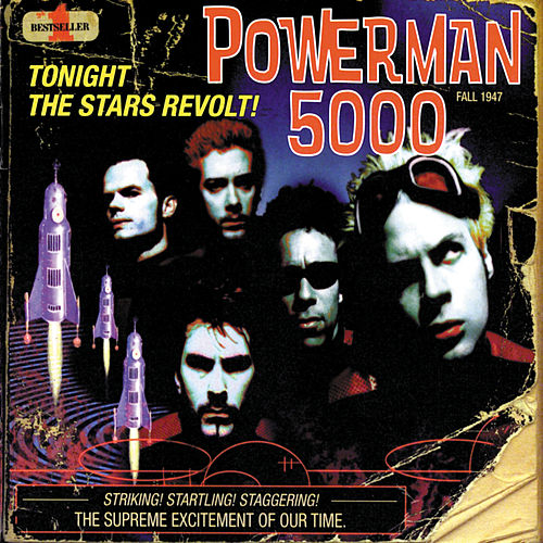 Tonight The Stars Revolt de Powerman 5000