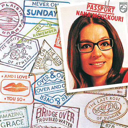 Passport de Nana Mouskouri