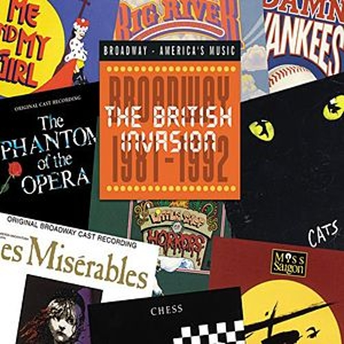 British Invasion: Broadway 1981-1992 by Various Artists