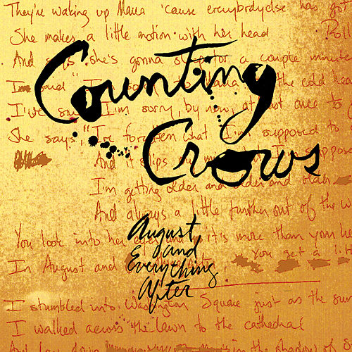 August & Everything After de Counting Crows