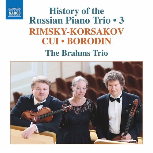 History of the Russian Piano Trio, Vol. 3 by Brahms Trio