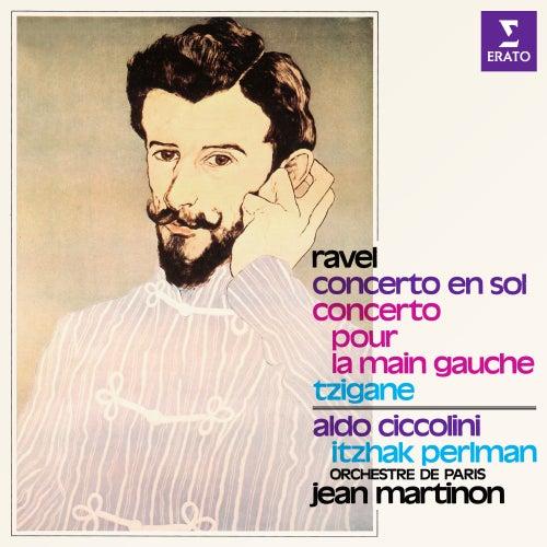 Ravel: Concerto en sol, Concerto pour la main gauche & Tzigane von Itzhak Perlman