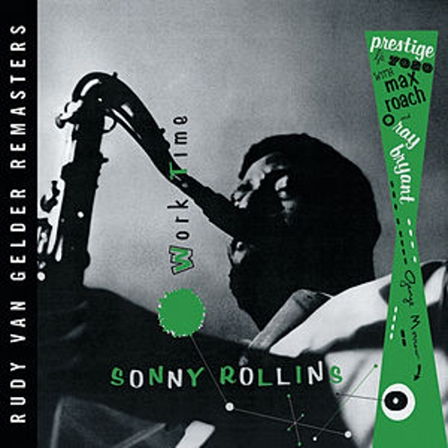 Worktime (RVG) by Sonny Rollins