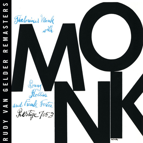 Monk (RVG Remaster) by Thelonious Monk