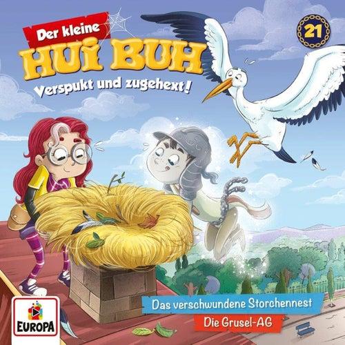021/Das verschwundene Storchennest/Die Grusel-AG von Der kleine Hui Buh