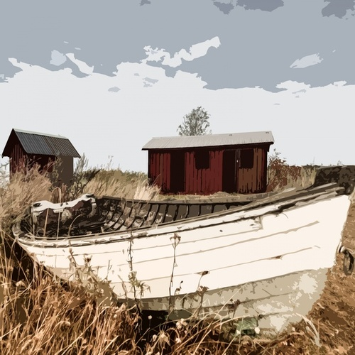 Old Fishing Boat by Wes Montgomery