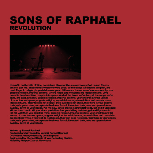 Revolution by Sons of Raphael