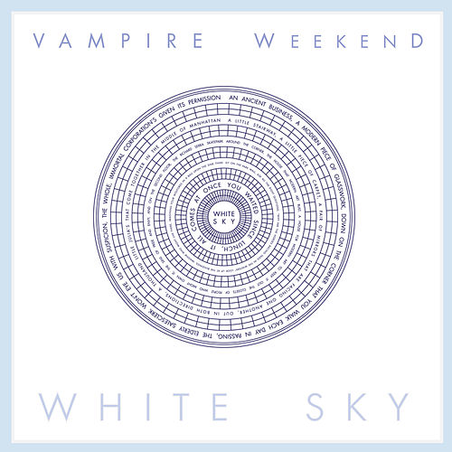 White Sky de Vampire Weekend