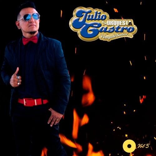 Vol. 5 by Julio Castro y Su Orquesta Pongale sabor