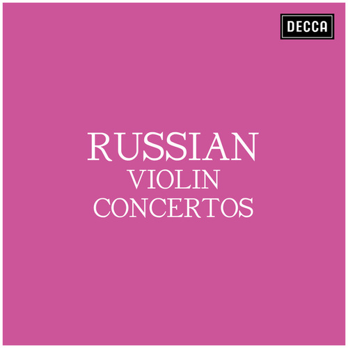 Russian Violin Concertos von Pyotr Ilyich Tchaikovsky