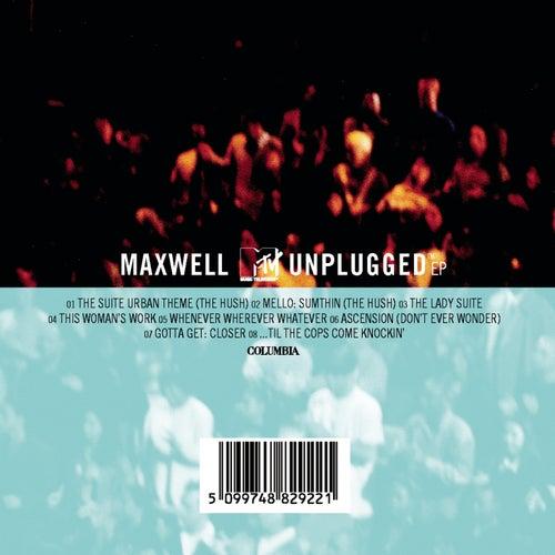 MAXWELL MTV UNPLUGGED de Maxwell