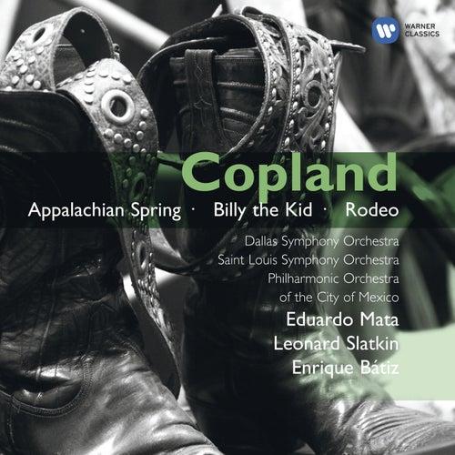 Copland: Orchestral Works by Leonard Slatkin
