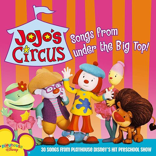 Jojo's Circus de Disney Characters