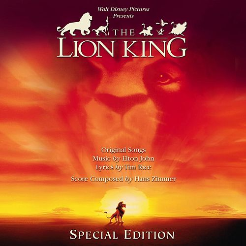 The Lion King: Special Edition Original Soundtrack (English Version) de Various Artists
