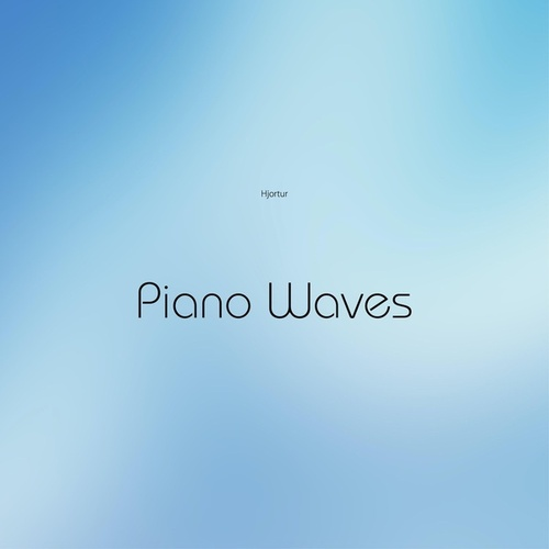 Piano Waves by Hjortur