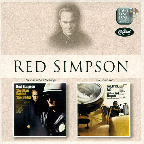 The Man Behind The Badge/Rock Truck Roll de Red Simpson
