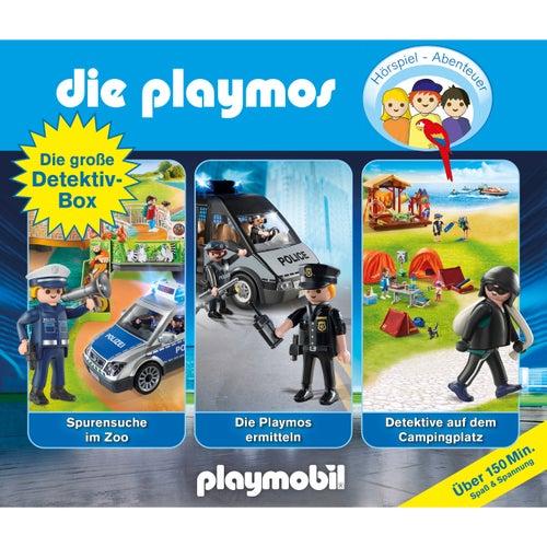 Die große Detektiv-Box, Folgen 46, 66, 73 (Das Original Playmobil Hörspiel) von Die Playmos