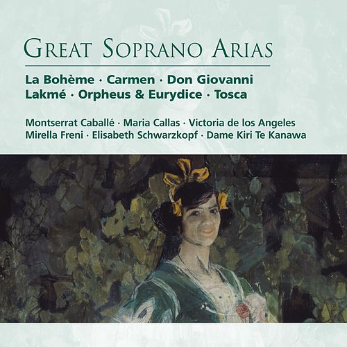 Great Soprano Arias by Various Artists