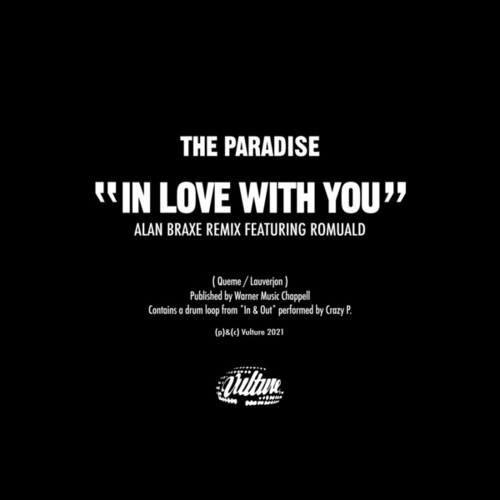 In Love with You (Alan Braxe Remix) by The Paradise