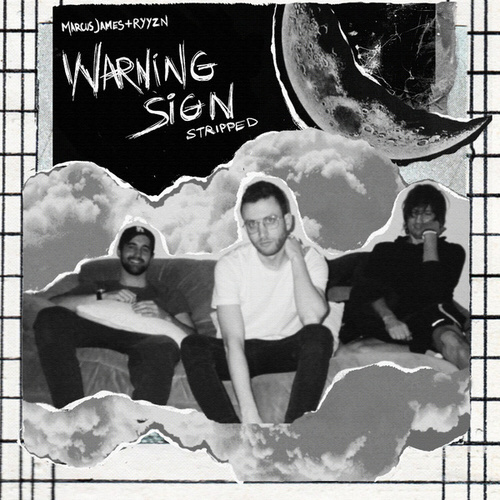 Warning Sign (Stripped) by Marcus James