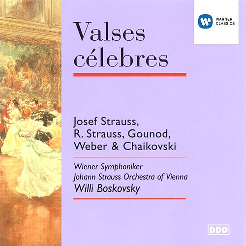 Valses célebres by Willi Boskovsky