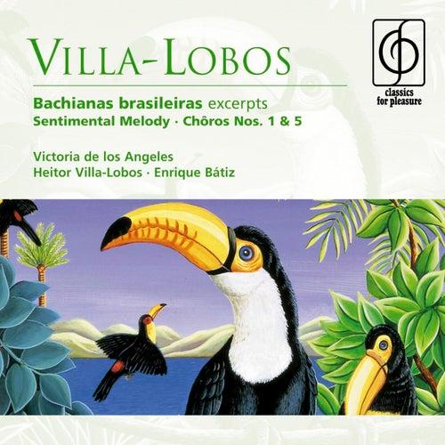 Villa-Lobos: Bachianas brasileiras etc de Victoria De Los Angeles