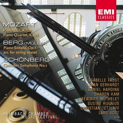 Mozart: Piano Trio & Piano Quartet / Berg: Piano Sonata / Schönberg: Kammersinfonie de Lars Vogt