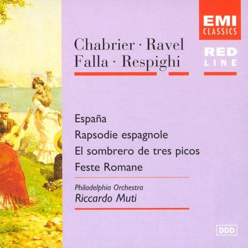 Chabrier/Ravel/Falla/Respighi von Riccardo Muti