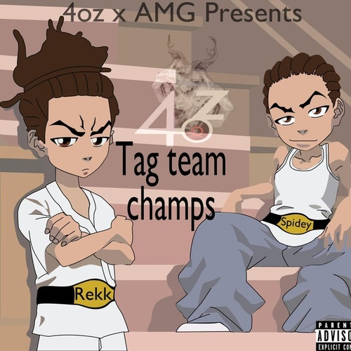Tag Team Champs by 4ozSpidey