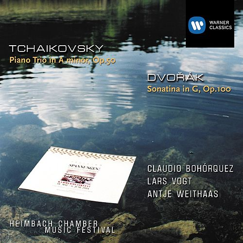 Dvorák: Sonatine Op.100 / Tchaikovsky: Piano Trio Op.50 de Lars Vogt